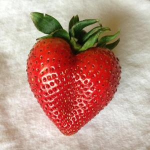 strawberry heart